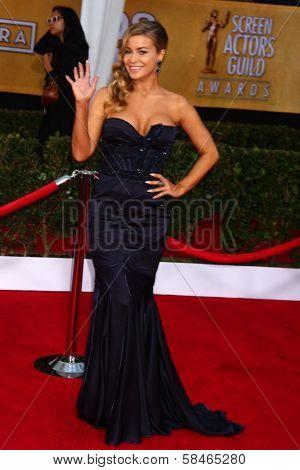 Carmen Electra at the 19th Annual Screen Actors Guild Awards Arrivals, Shrine Auditorium, Los Angeles, CA 01-27-13