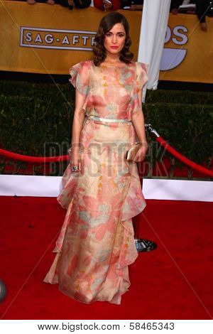 Rose Byrne at the 19th Annual Screen Actors Guild Awards Arrivals, Shrine Auditorium, Los Angeles, CA 01-27-13