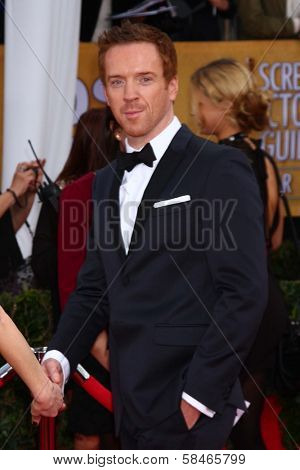 Damian Lewis at the 19th Annual Screen Actors Guild Awards Arrivals, Shrine Auditorium, Los Angeles, CA 01-27-13