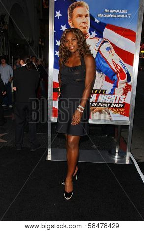 HOLLYWOOD - JULY 26: Serena Williams at the Premiere Of