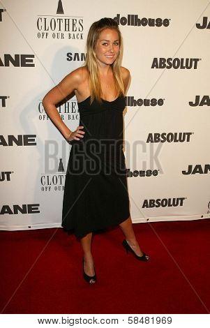 BEVERLY HILLS - JULY 20: Lauren Conrad at Jane Magazine's