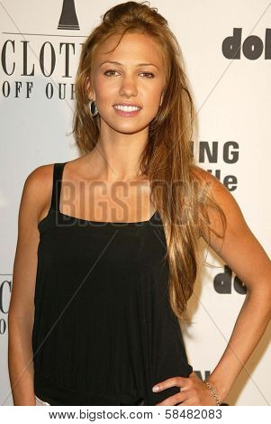 BEVERLY HILLS - JULY 20: Marnette Patterson at Jane Magazine's