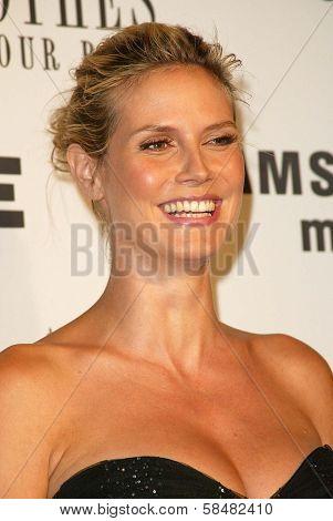 BEVERLY HILLS - JULY 20: Heidi Klum at Jane Magazine's