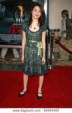 WESTWOOD - JULY 17: Miranda Cosgrove at the premiere of