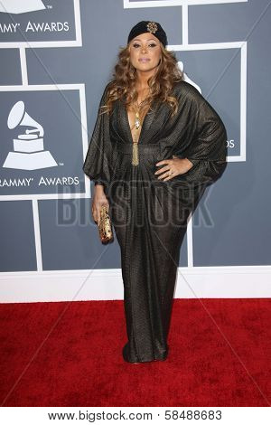 Tamia at the 55th Annual GRAMMY Awards, Staples Center, Los Angeles, CA 02-10-13