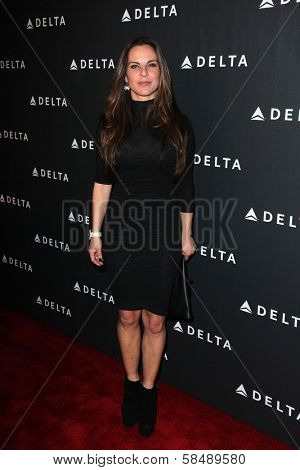 Kate del Castillo at Delta Airline's Celebration of LA's Music Industry, Getty House, Los Angeles, CA 02-07-13