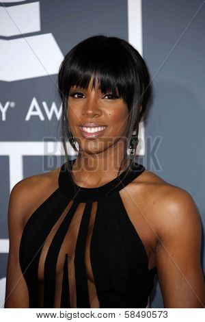 Kelly Rowland at the 55th Annual GRAMMY Awards, Staples Center, Los Angeles, CA 02-10-13