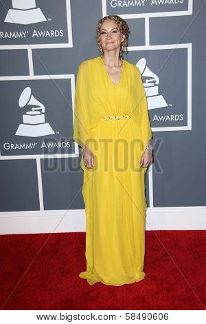 Joan Osborne at the 55th Annual GRAMMY Awards, Staples Center, Los Angeles, CA 02-10-13