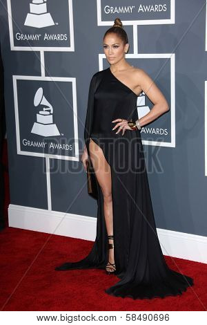 Jennifer Lopez at the 55th Annual GRAMMY Awards, Staples Center, Los Angeles, CA 02-10-13