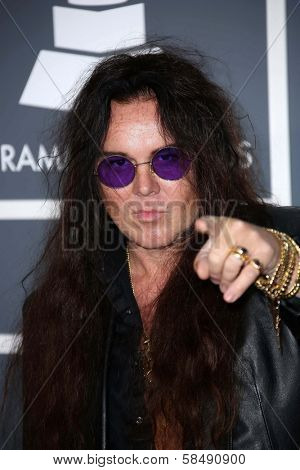 Yngwie Malmsteen at the 55th Annual GRAMMY Awards, Staples Center, Los Angeles, CA 02-10-13