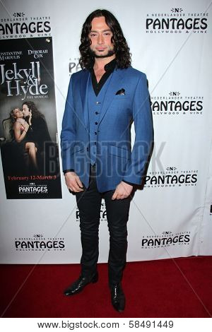 Constantine Maroulis at the