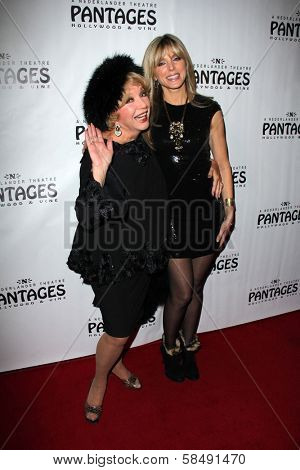Ruta Lee, Marla Maples at the