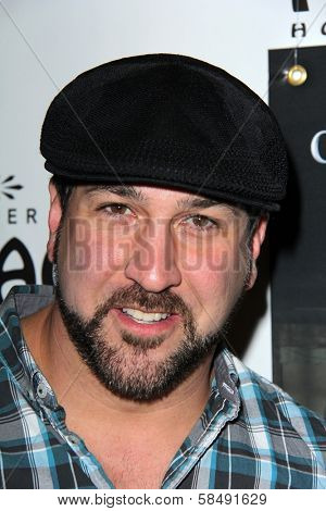 Joey Fatone at the