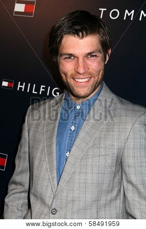 Liam McIntyre at the Tommy Hilfiger West Coast Flagship Grand Opening Event, Tommy Hilfiger, West Hollywood, CA 02-13-13