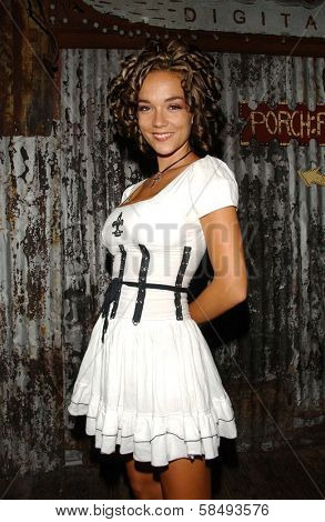 WEST HOLLYWOOD - JULY 30: Susie Sprague at Corey Feldman's Birthday Party at House of Blues July 30, 2006 in West Hollywood, CA