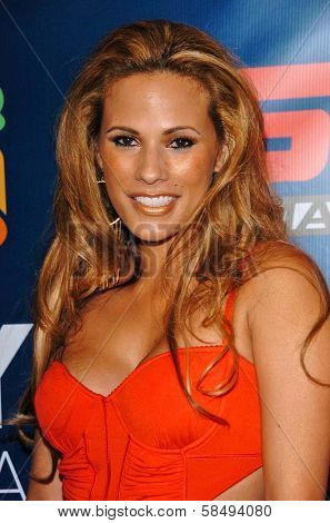 HOLLYWOOD - JULY 11: Bonnie Jill Laflin at ESPN The Magazine's