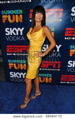 HOLLYWOOD - JULY 11: Bai Ling at ESPN The Magazine's
