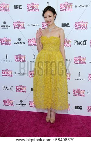 Ms. Ni Ni at the 2013 Film Independent Spirit Awards, Private Location, Santa Monica, CA 02-23-13