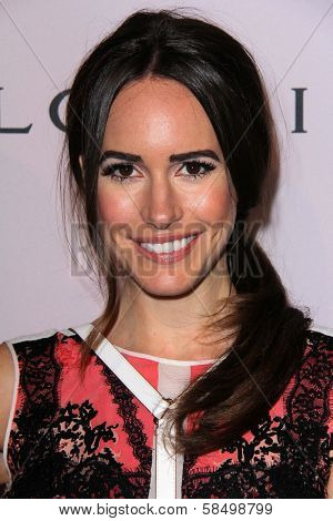 Louise Roe at the Elizabeth Taylor Bvlgari Jewelry Collection Unveiling, Bvlgari Beverly Hills, CA 02-19-13