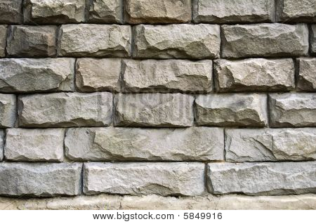 Stonewall close-up