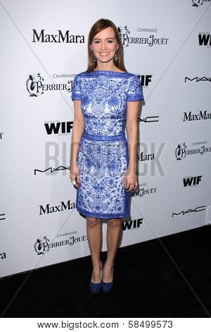 Ahna O'Reilly at the Sixth Annual Women In Film Pre-Oscar Coctail Party, Fig & Olive, Los Angeles, CA 02-22-12