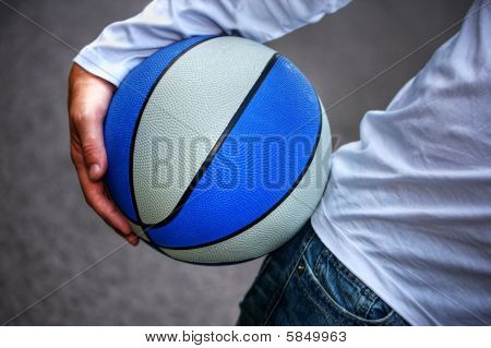 The Guy And His Basketball