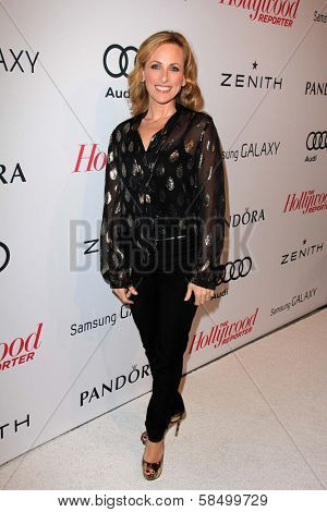 Marlee Matlin at the Hollywood Reporter Celebration for the 85th Academy Awards Nominees, Spago, Beverly Hills, CA 02-04-13