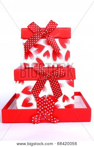 Mystery Gift And Surprises Concept Gift Box