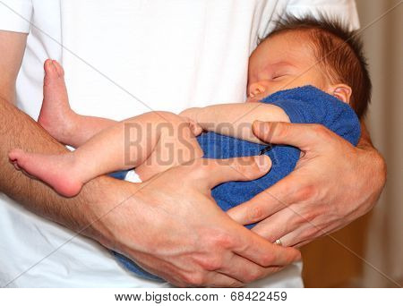 Safe In Father's Arms