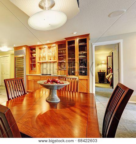 Spacious Dining Room Interior