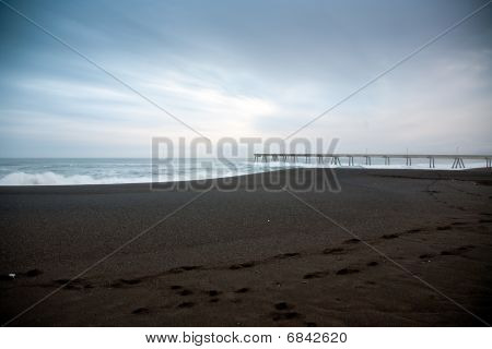 Pacifica Pier and Sandy Beach