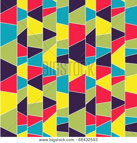 Abstract plaid pattern. Seamless vector illustration.