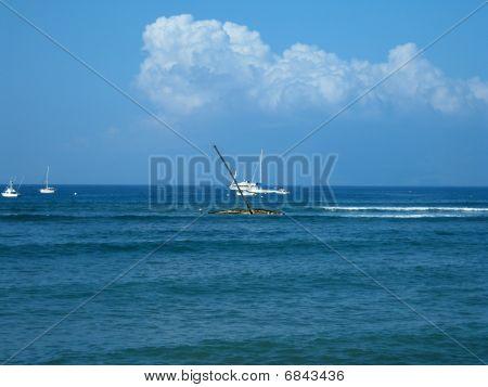 Shipwreck Off Lahaina, Maui