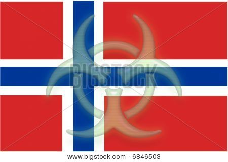 Flag Of Norway Health Warning