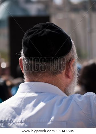 Religious Jewish Man In Jerusalem