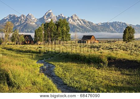 Moulton Barn in the Grand Teton, WY