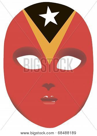 East Timor Mask