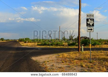 West Texas Small town
