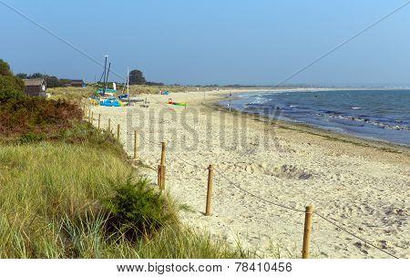 Studland knoll beach Dorset England UK