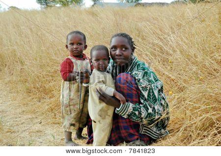 Masai Family