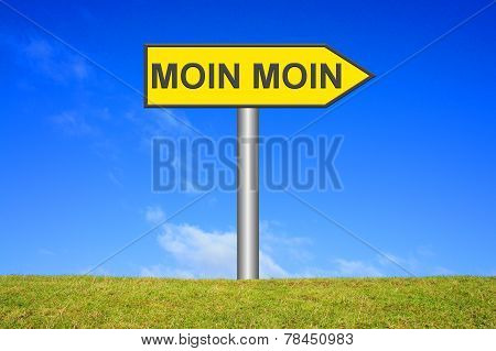 Yellow Sign Moin