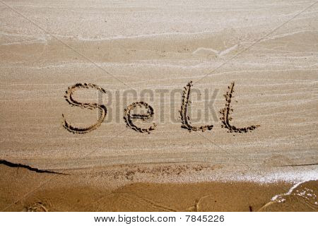 Text On The Sand