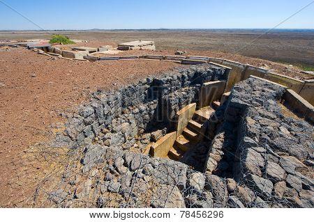 Entrance Of Bunker