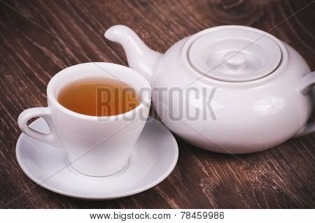 Black Tea Set With Cup