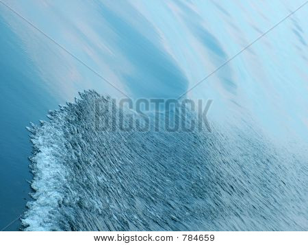 Sea wave. Smooth water background. Abstract sea surface background poster
