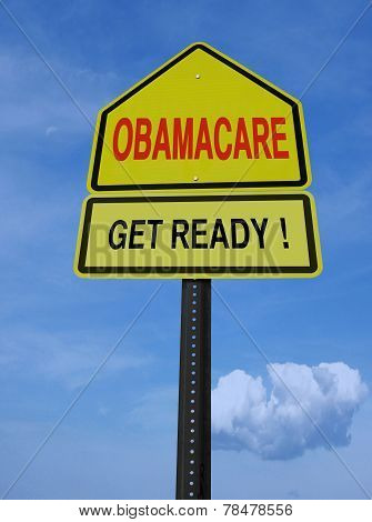 Obamacare Get Ready Conceptual Post