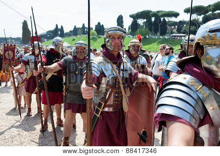 Birth Of Rome Festival 2015