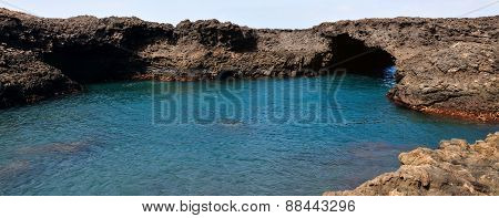 Natural Pool And Arch
