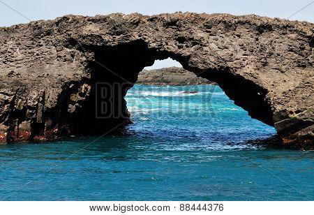 Natural Arch In Salinas