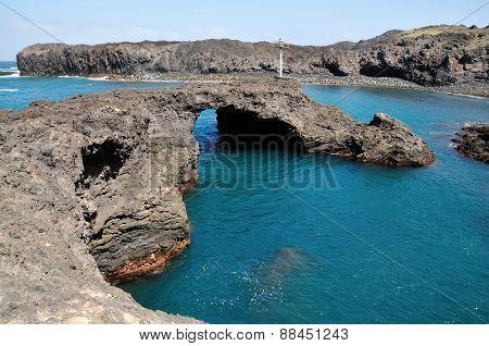 Natural Arch Over Baia